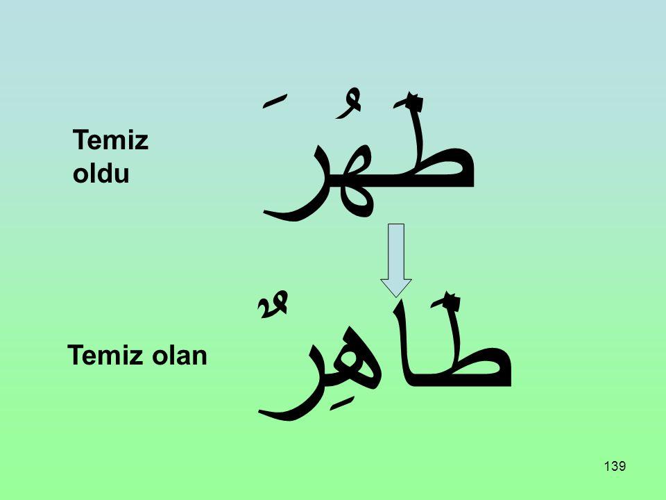 138 شَمَلَ شَامِلٌ Kapsadı Kapsayan
