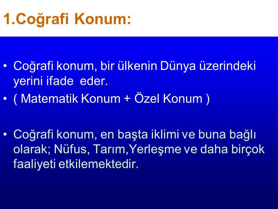 TÜRKİYE EKONOMİSİNİ ETKİLEYEN FAKTÖRLER Türkiye Ekonomisini Etkileyen Faktörler COĞRAFİ KONUM YERYÜZÜ ŞEKİLLERİ İKLİM ÖZELLİKLERİ NÜFUS