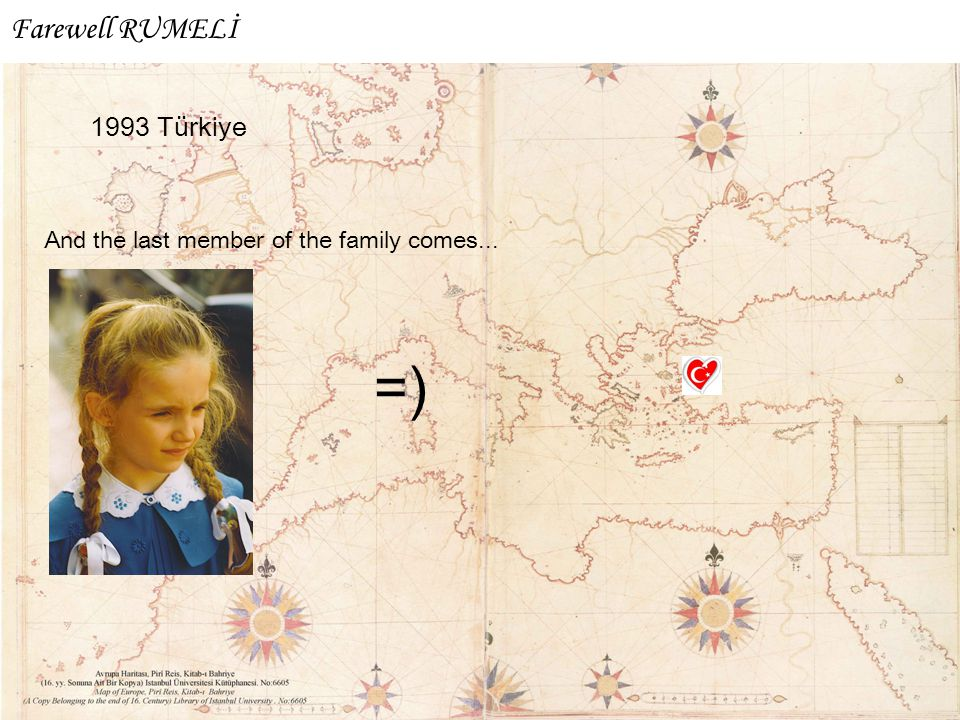 1993 Türkiye And the last member of the family comes... =) Farewell RUMELİ