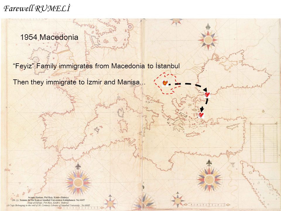 """Feyiz"" Family immigrates from Macedonia to İstanbul Then they immigrate to İzmir and Manisa... Farewell RUMELİ"