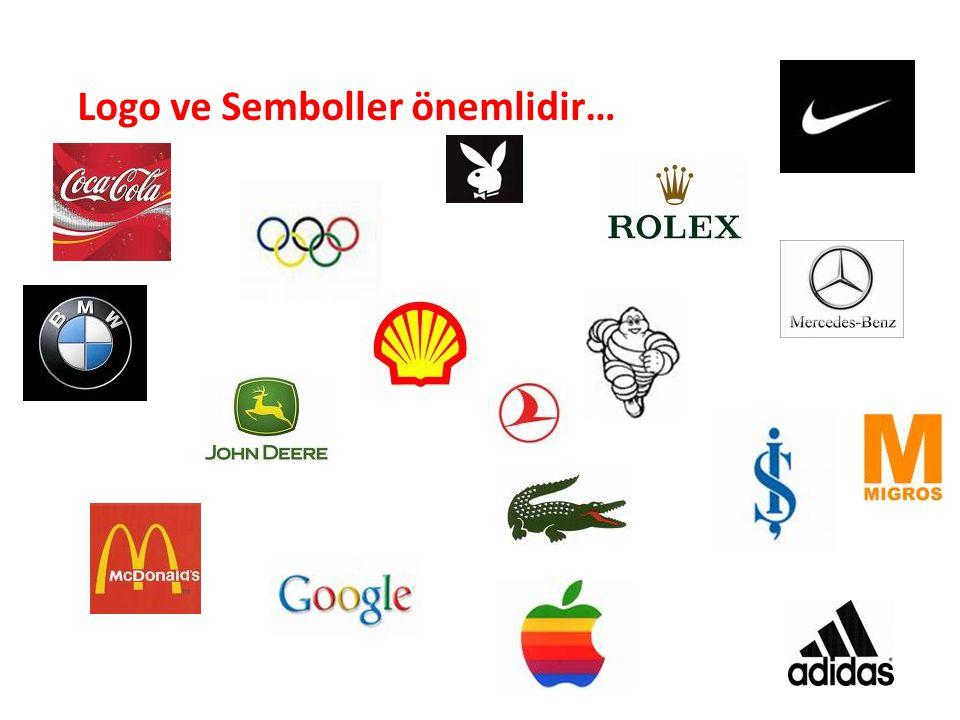 Logo ve Semboller önemlidir…