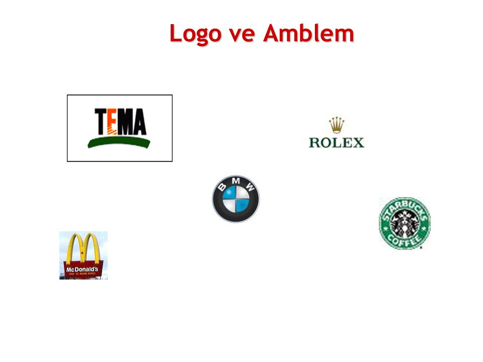 Logo ve Amblem 08 11 2007 Marketing Türkiye'nin bir araştırmasına göre; logo bir firmanın tanınma düzeyini % 55 oranında artırabilir.