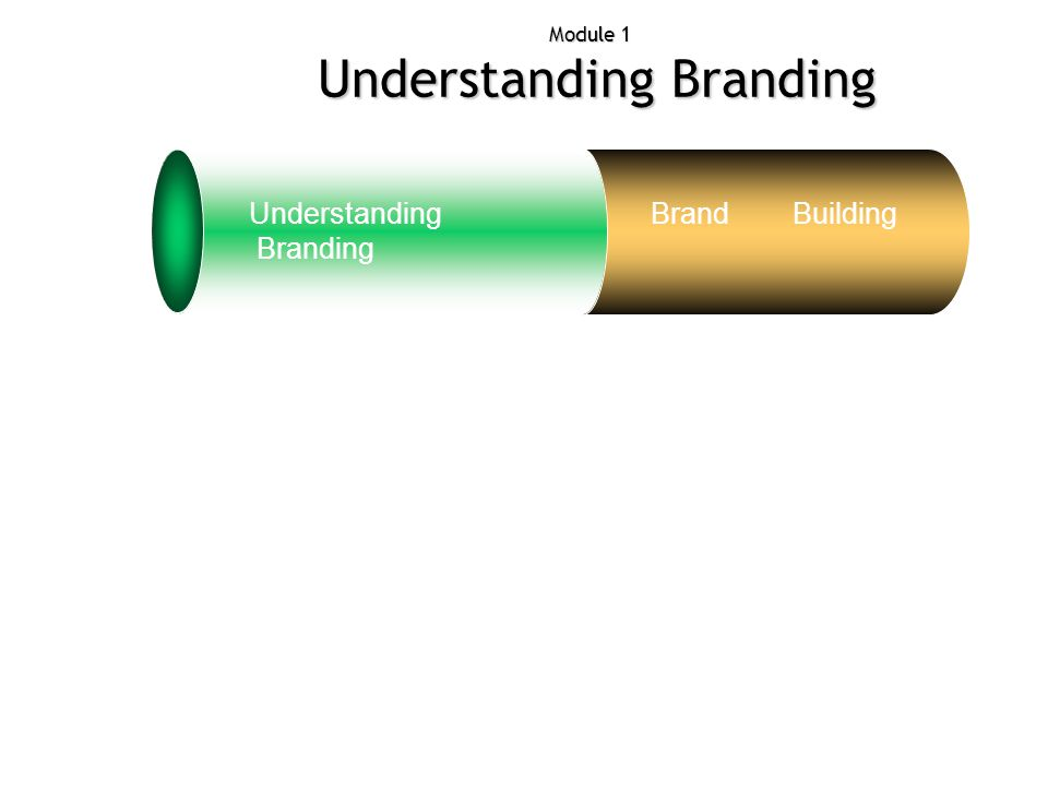 Module 1 Understanding Branding Exercise Archite cture Manage ment Attribu tes Products to brands Understanding Branding Brand Building