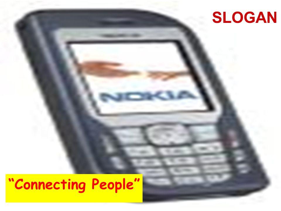 """Slogan 08 11 2007 """"Connecting People"""" SLOGAN Akılda kalıcı bir slogan ürünü hatırlatır."""