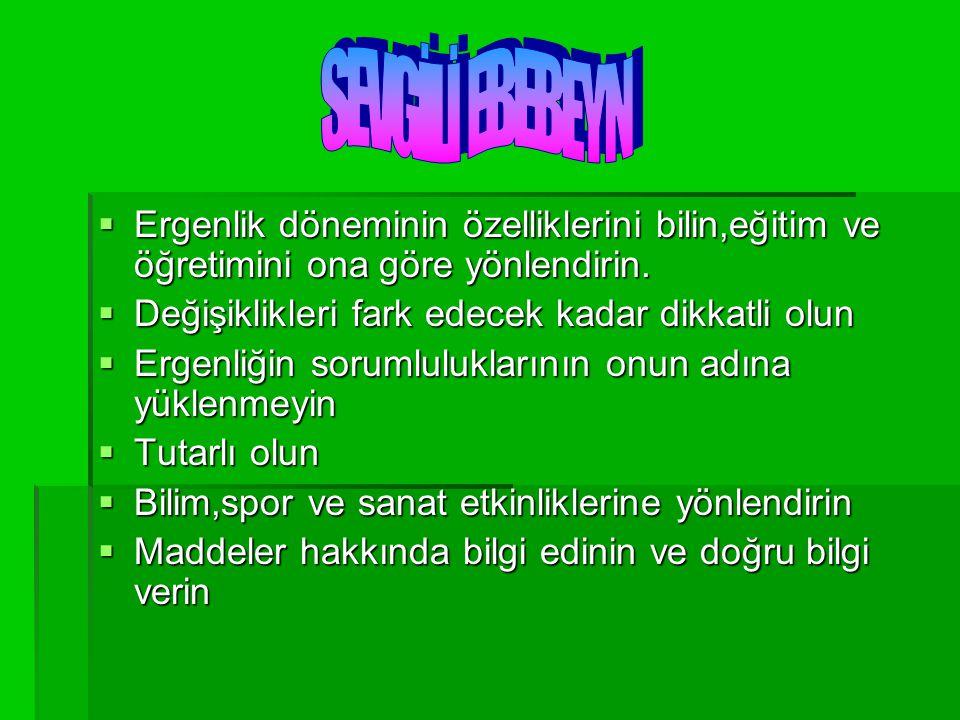 Eyvah.Çocuğum uyuşturucu kullanıyor Bugün Türkiye'de binlerce genç uyuşturucu batağında.