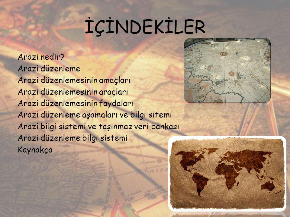 Arazi nedir.Türkçe Sözlükte: Arazi, yeryüzü parçası, yerey, yer, toprak.