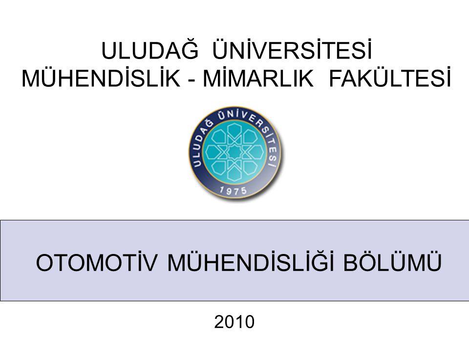 OTOMOTİV MÜHENDİSLİĞİ BÖLÜMÜ Otomotiv Teknolojileri Kongresi Otomotiv Teknolojileri Kongresi' nin yedincisi OTEKON 2014, Otomotiv Mühendisliği Bölümü tarafından Bursa' da uluslar arası katılımlı olarak gerçekleştirilecektir.