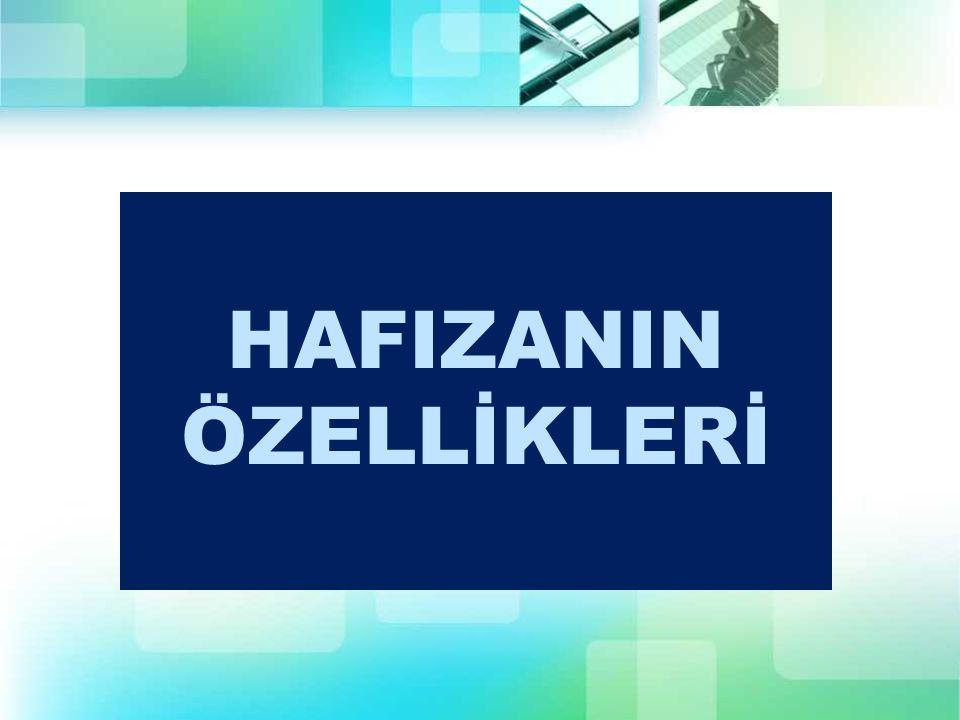 HAFIZANIN ÖZELLİKLERİ