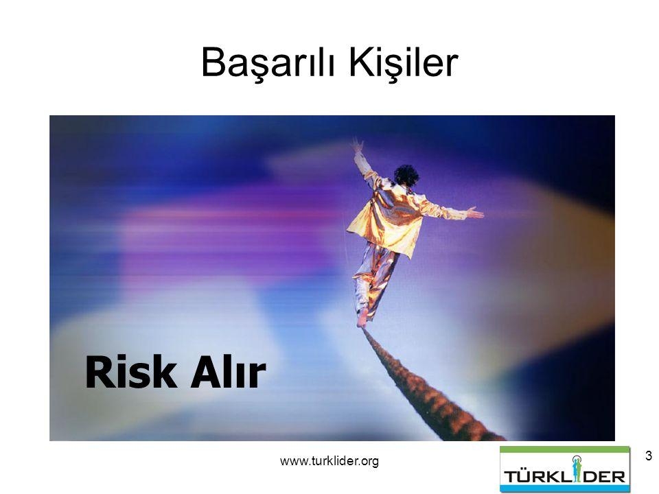 3 Başarılı Kişiler Risk Alır