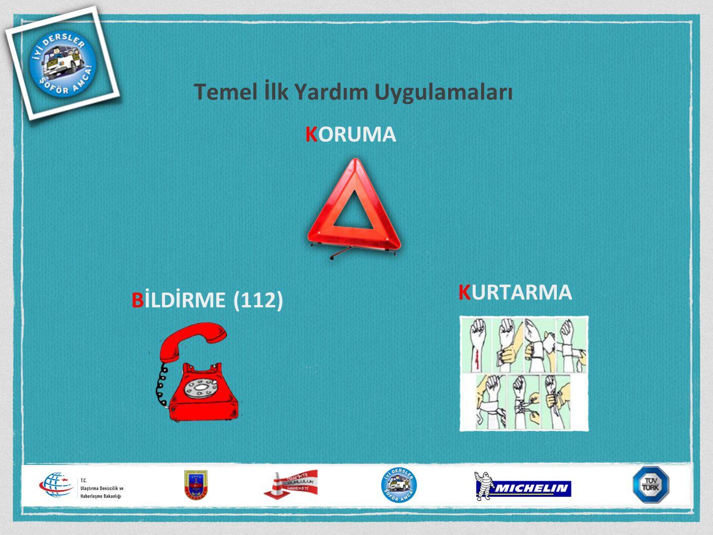 Temel İlk Yardım Uygulamaları KORUMA BİLDİRME (112) KURTARMA