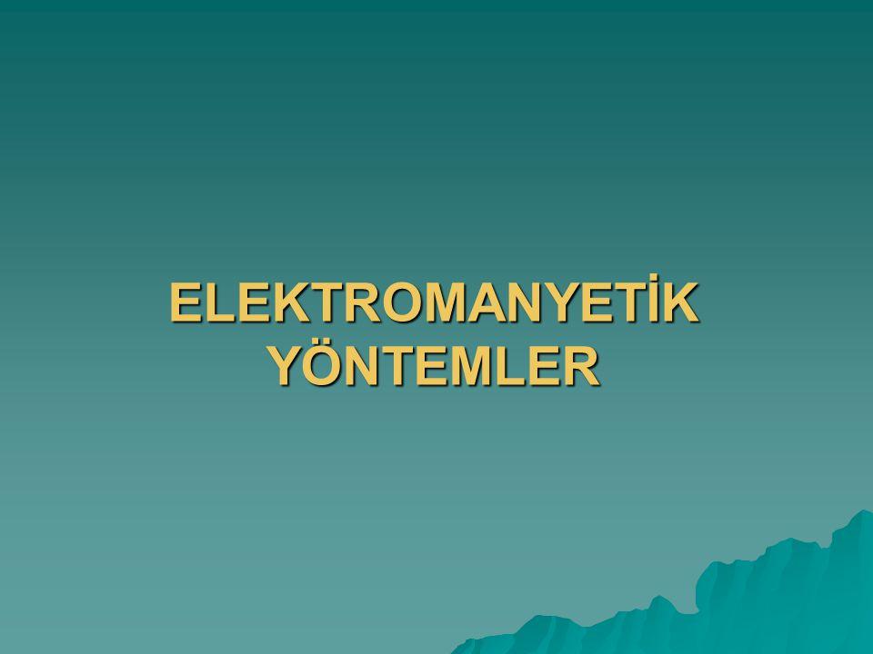 ELEKTROMANYETİK YÖNTEMLER
