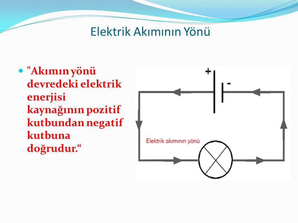 Elektrik Akımını Ölçelim