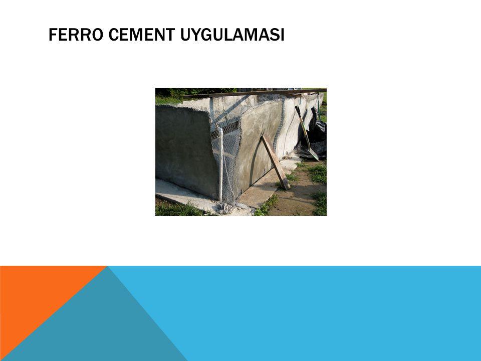 FERRO CEMENT UYGULAMASI