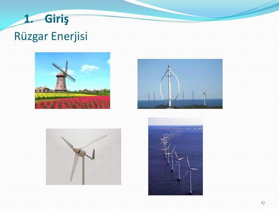 17 Rüzgar Enerjisi 1.Giriş