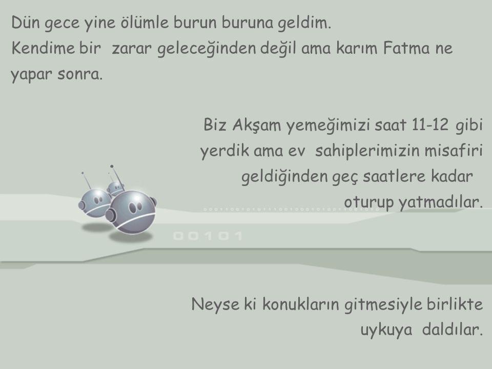 Yazan: Kara Fatma'nın Eşi Kara Mehmet