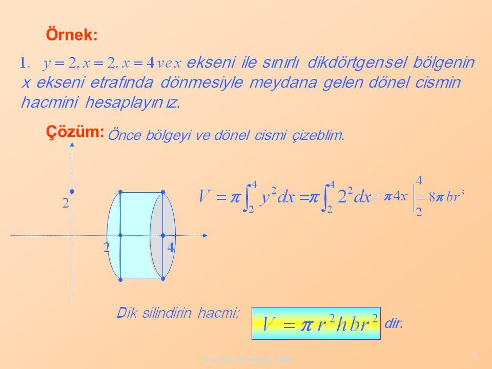6 Örnek: Çözüm: