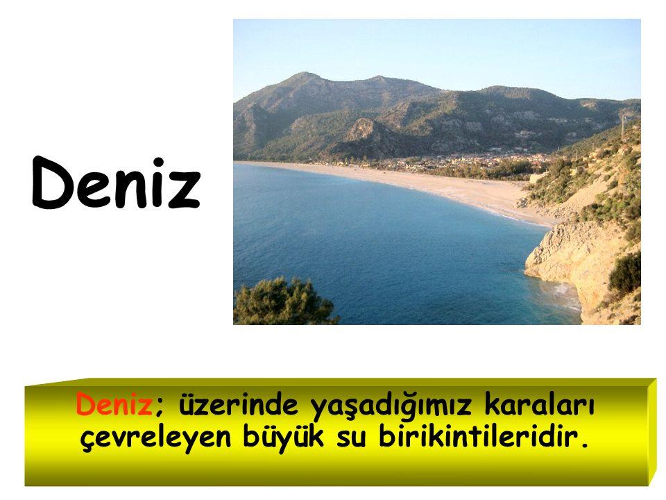 Türkiye'nin en büyük gölü hangisidir? VAN GÖLÜ