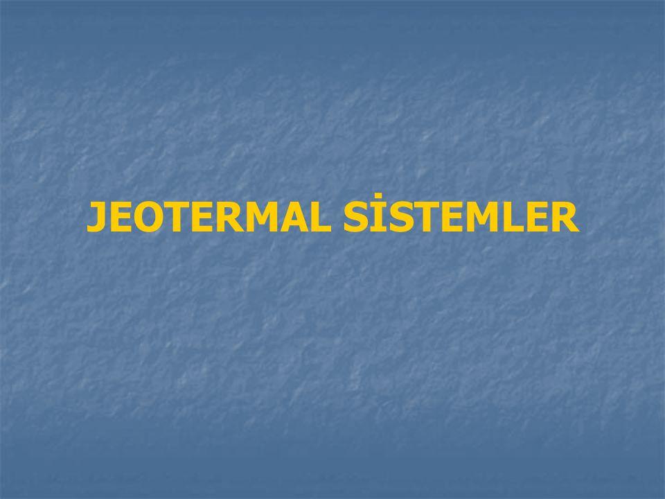 JEOTERMAL SİSTEMLER