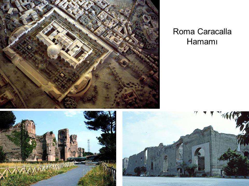 Tepidarium Frigidarium Roma Caracalla Hamamı