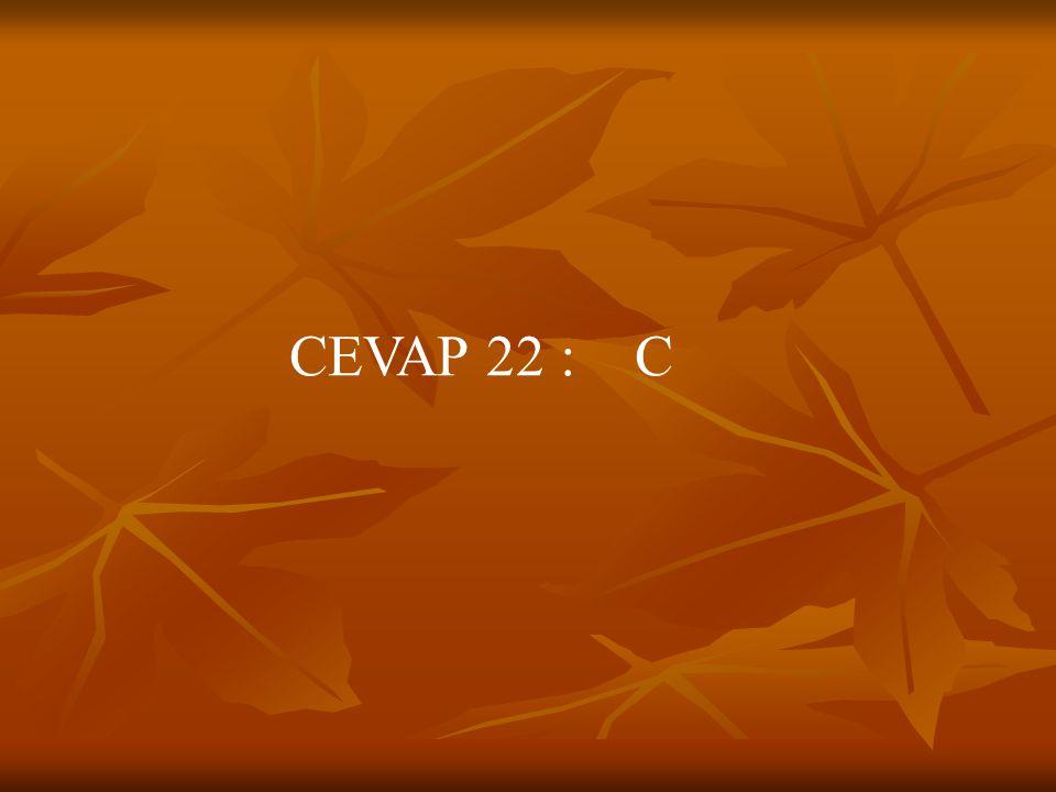 CEVAP 22 : C