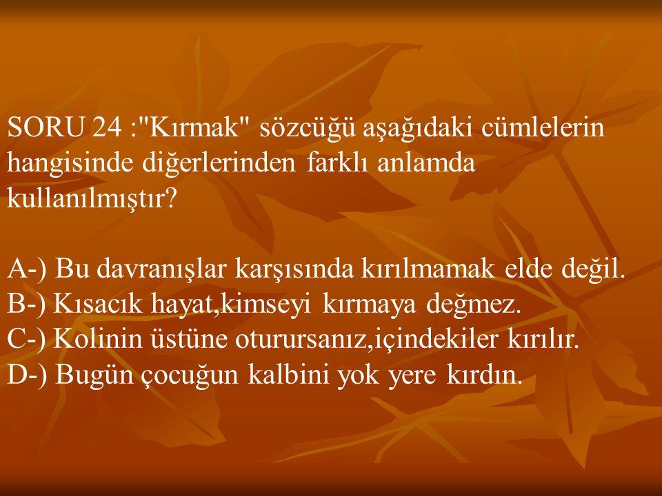 SORU 24 :