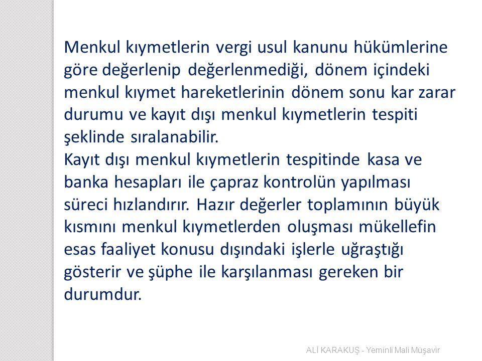 ALACAKLARIN DEĞERLEMESİ Alacakların değerleme ölçüsü Türk Lirası ve döviz cinsinden olan alacaklar için ayrı ayrı değerlenmeye tabi tutulurlar.