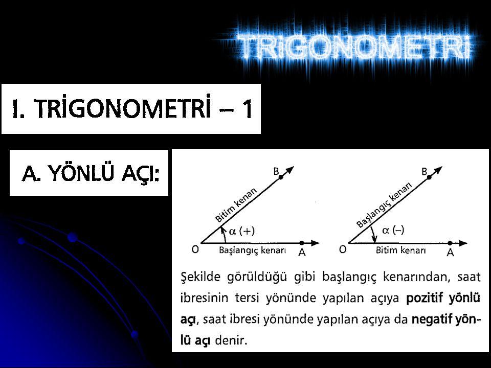 30° ve 60° lik Açıların Trigo.