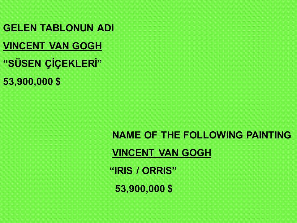 PABLO PİCASSO KOLLARINI KAVUŞTURMUŞ KADIN 55,000,000 $ PABLO PICASSO WOMAN, ARM OVER ARM 55,000,000 $