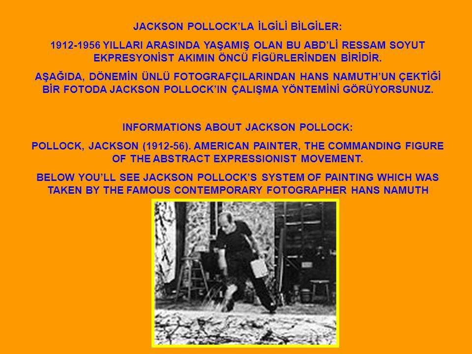 JACKSON POLLOCK NO.