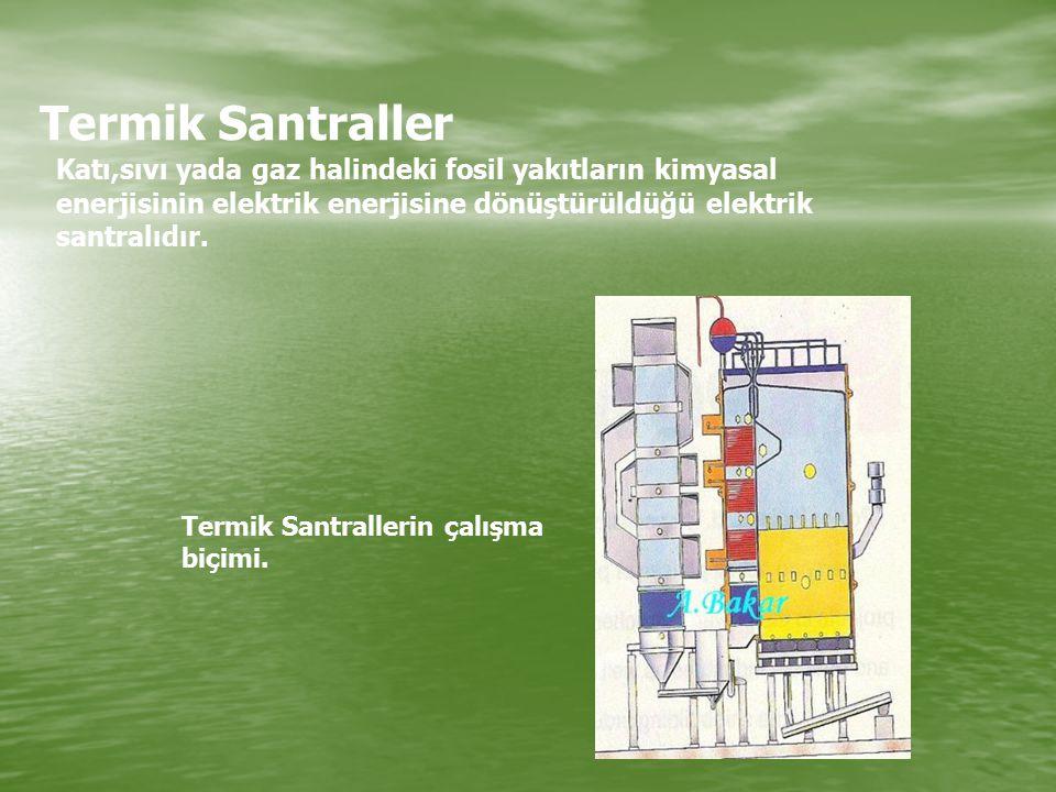 Hidroelektrik Santraller Seyhan Barajı: Adana Sarıyar Barajı: Ankara Nazilli Barajı: Kemer Hirfanlı Barajı: Kırşehir Demir Köprü Barajı: Manisa Gökçekaya Barajı: Eskişehir Keban Barajı: Elazığ Termik Santraller Seyitömer Termik Santrali: Kütahya Tunçbilek Termik Santrali: Kütahya Umarım anlamışsınızdır?
