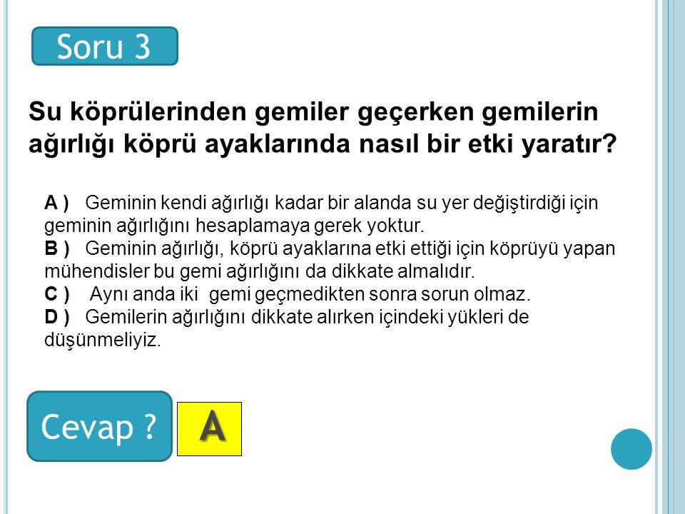 Soru 3 Cevap .