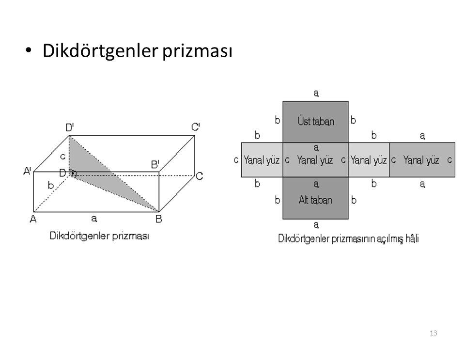 Dikdörtgenler prizması 13