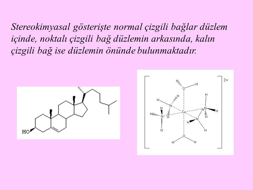 Enantiyomerler, şiral moleküllerdir; dört farklı grubun bağlı olduğu karbon atomu (asimetrik karbon atomu, şiral merkez) içerirler.