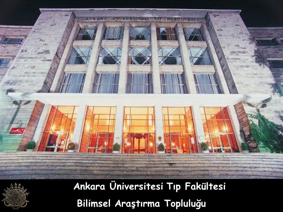 Ankara Üniversitesi Tıp Fakültesi Bilimsel Araştırma Topluluğu