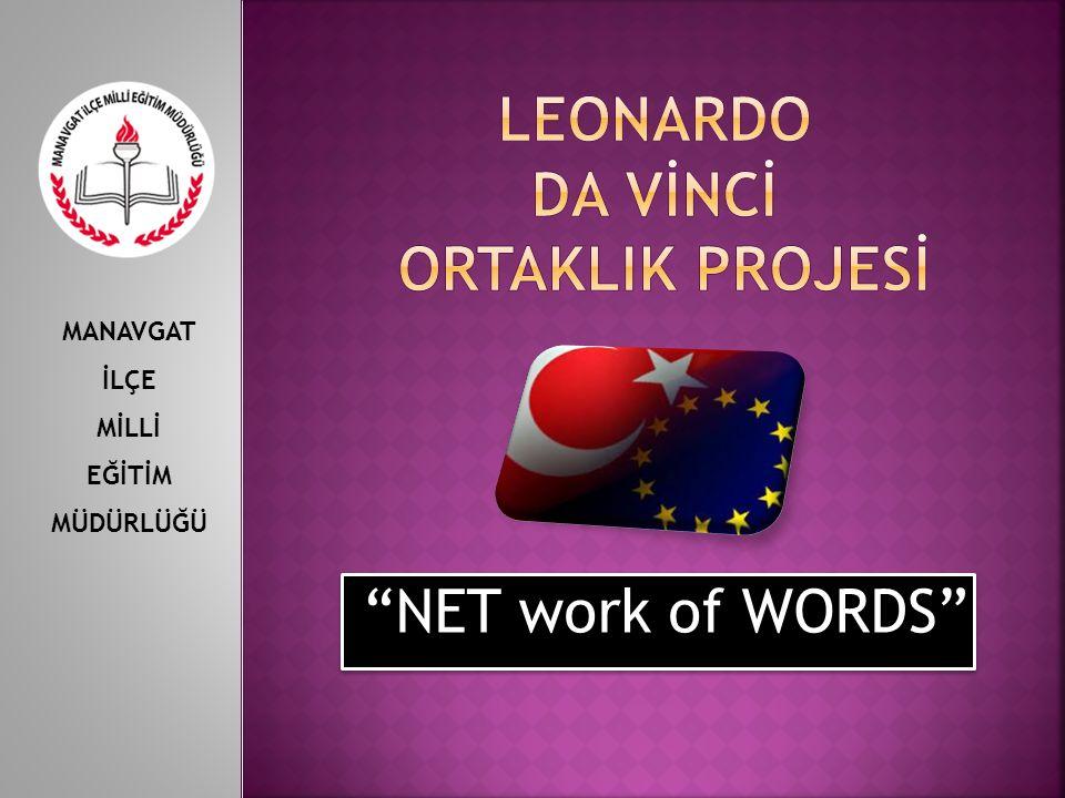 """""""NET work of WORDS"""" MANAVGAT İLÇE MİLLİ EĞİTİM MÜDÜRLÜĞÜ"""