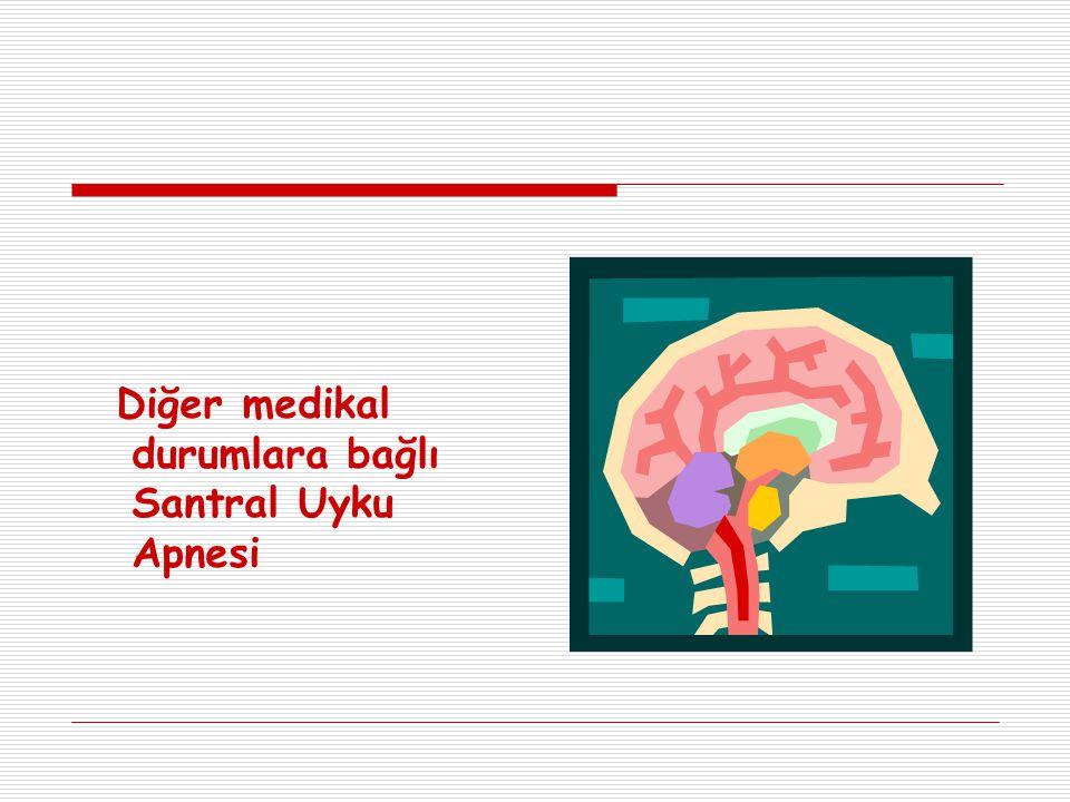 Diğer medikal durumlara bağlı Santral Uyku Apnesi
