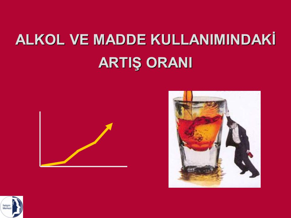 ALKOL VE MADDE KULLANIMINDAKİ ARTIŞ ORANI