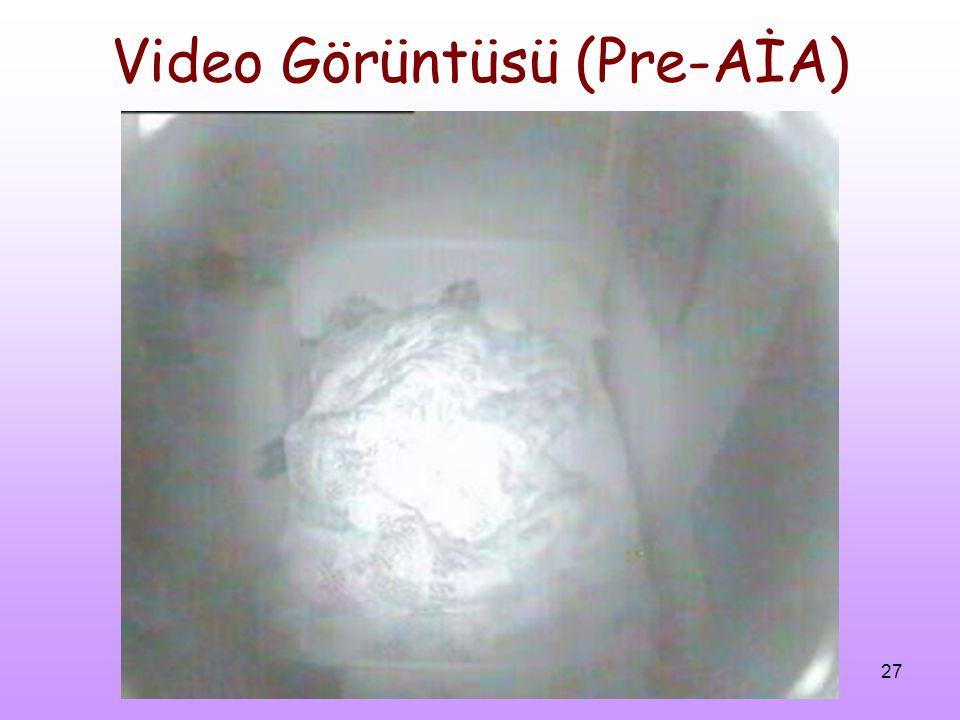 27 Video Görüntüsü (Pre-AİA)
