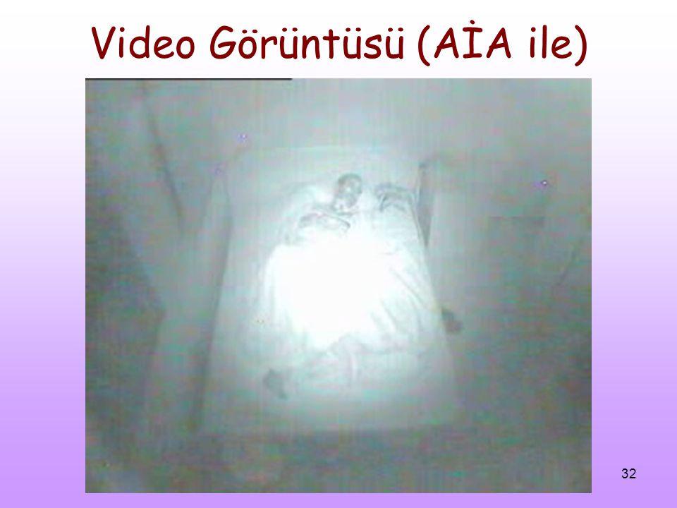 32 Video Görüntüsü (AİA ile)
