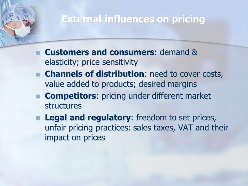Talebe yönelik fiyatlandırma Maliyet değil alıcı, daha doğrusu alıcının malın değerine ilişkin değerlendirmesi esas alınır.