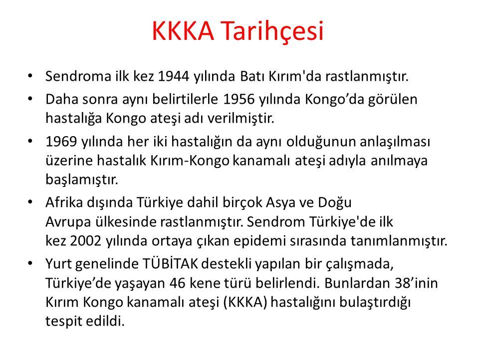 KKKA Tarihçesi Sendroma ilk kez 1944 yılında Batı Kırım da rastlanmıştır.