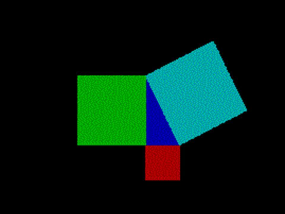 12 7 3 89 4 56 123 4 5678 1211109 13141516 12345 678910 1112131415 1617181920 2122232425 A B C Bu durumu kısaca dik kenarların kareleri toplamı hipotenüsün karesine eşittir şeklinde ifade edebiliriz.