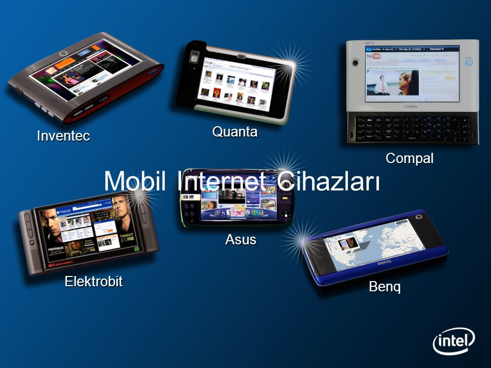 *Other brands and names are the property of their respective owners. Mobil Internet Cihazları