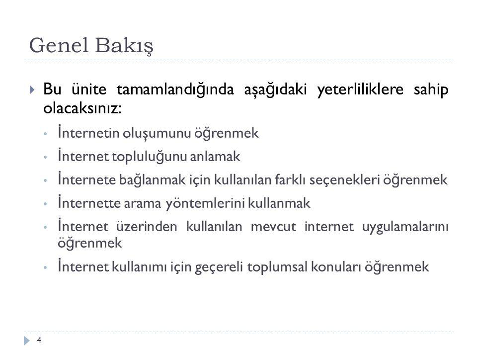 İnternette Arama Yapmak 35  Alan Arama  Alan aramaları, sayfa başlı ğ ı, URL adresi, metin içeri ğ i gibi belirli özellikleri içeren sınırlı aramalardır.