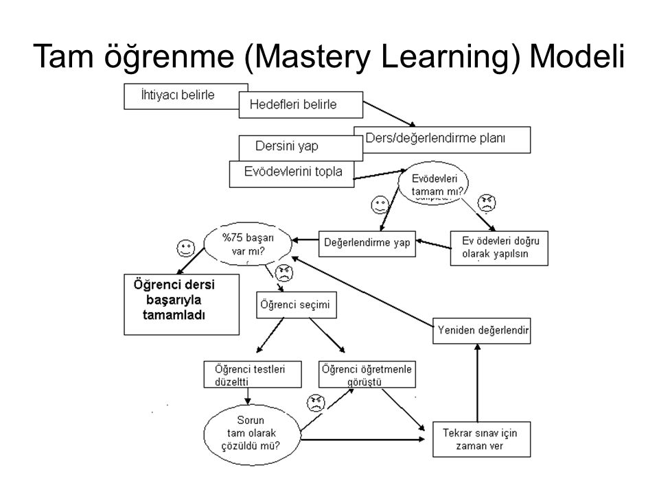 Tam öğrenme (Mastery Learning) Modeli
