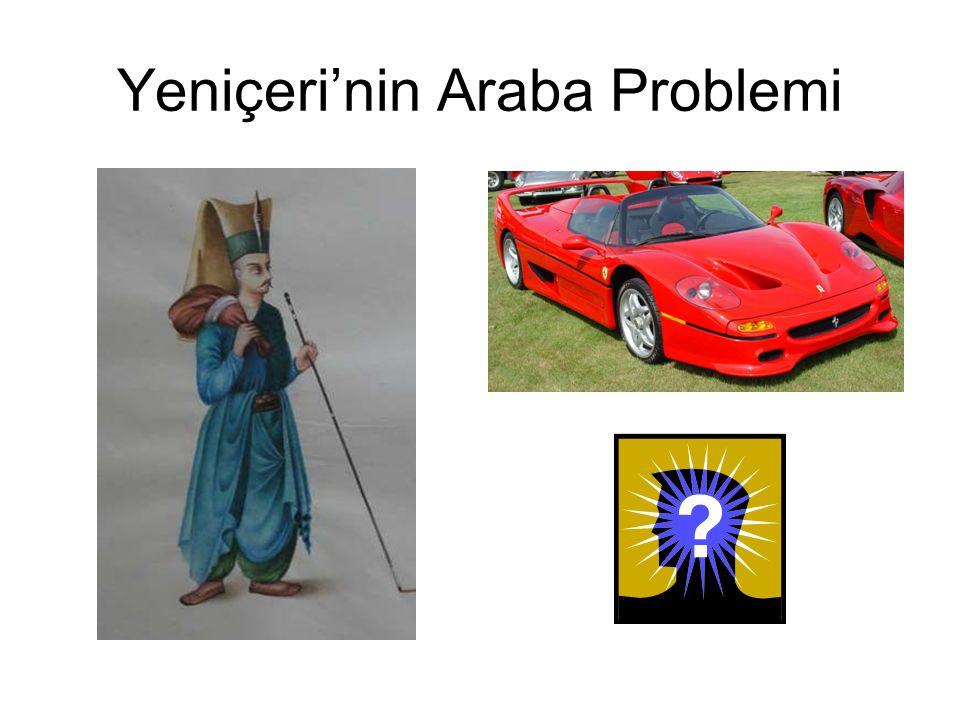Yeniçeri'nin Araba Problemi