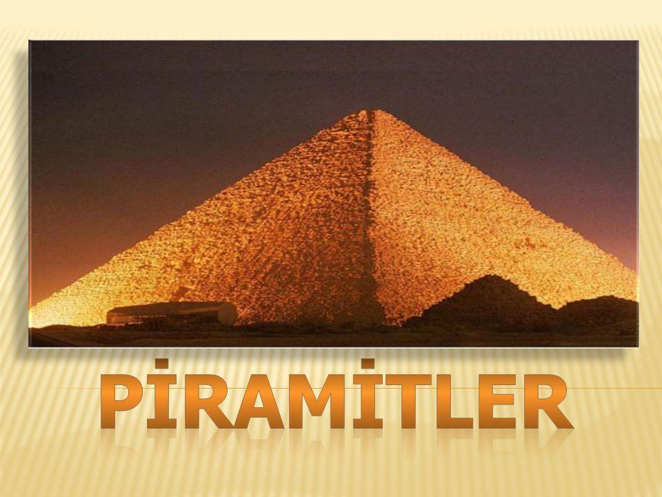  Tabanı daire biçiminde olan piramite koni adı verilir.