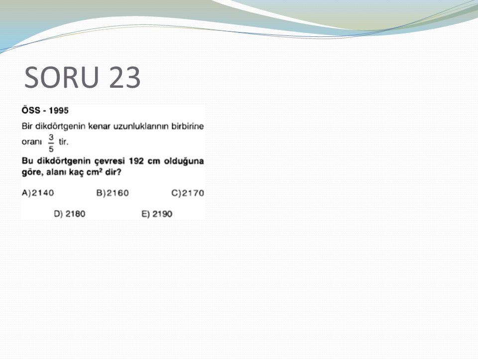 SORU 23