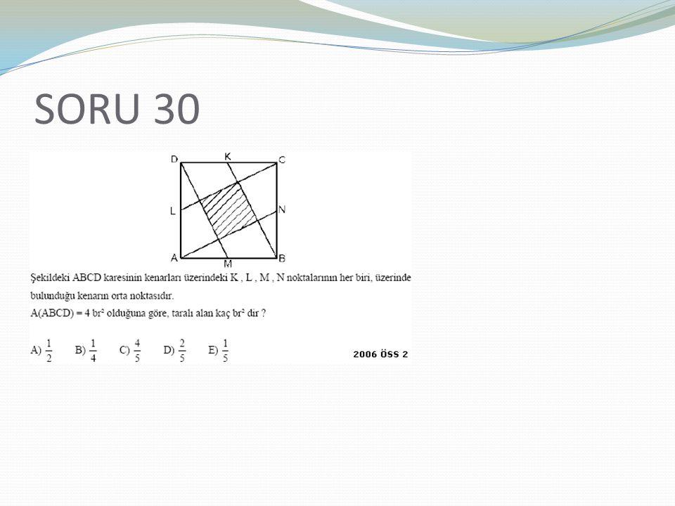 SORU 30