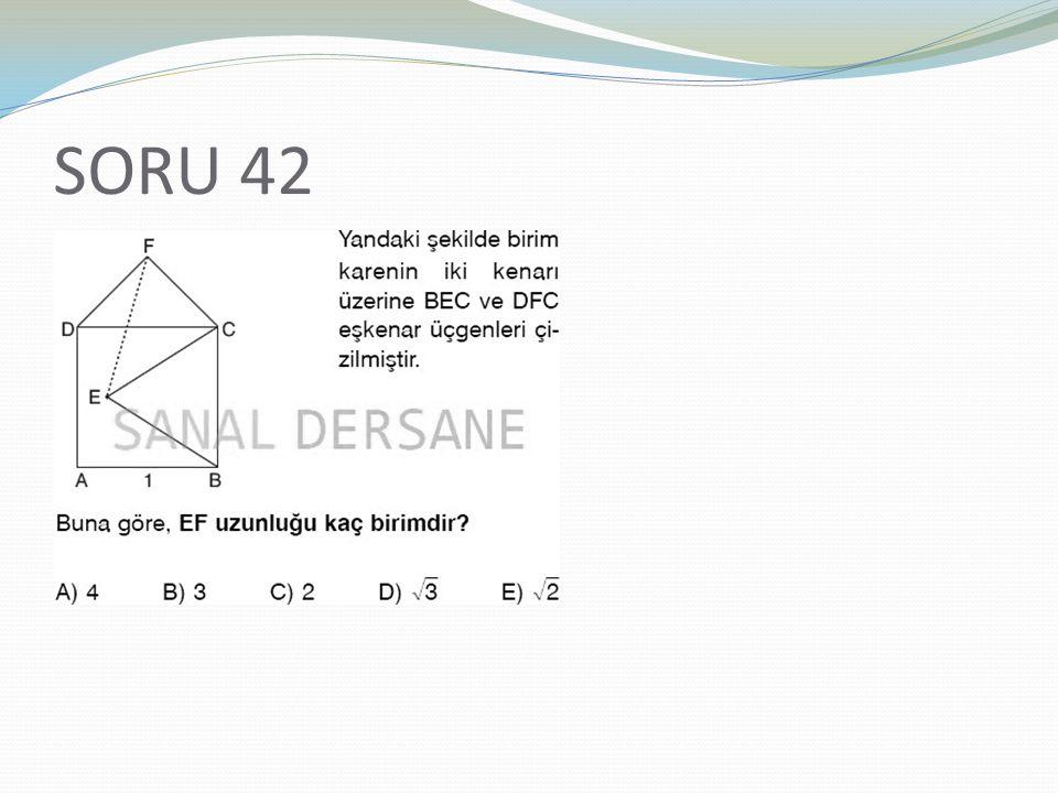 SORU 42